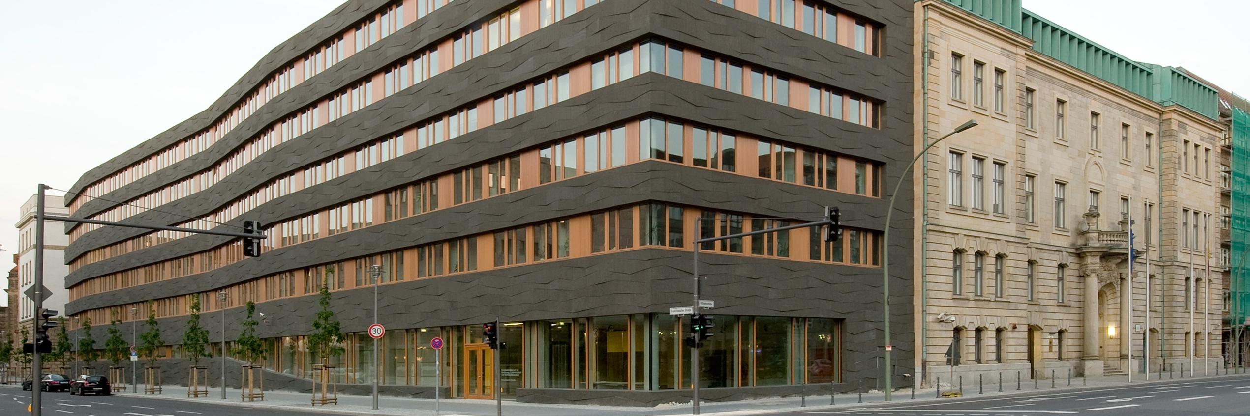 Gebäudeansicht des BMEL in Berlin