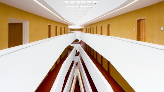 Blick ins Innere eines BMEL-Gebäudes