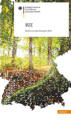 Coverbild des BZE-Flyers des BMEL