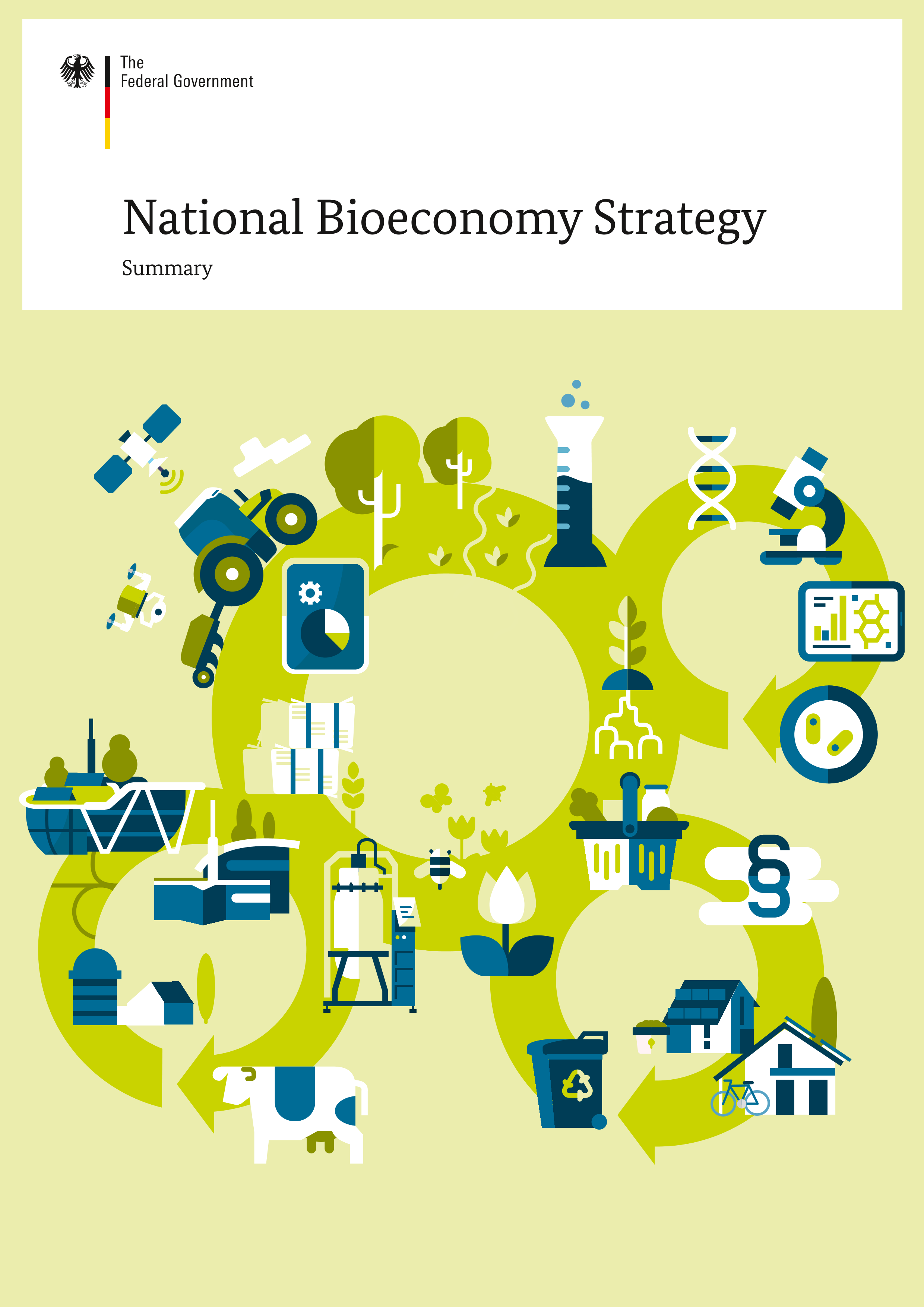 Cover National Bioeconomy Strategy - Summary