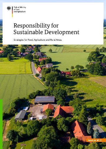 "Cover of the Publication ""Responsibility for Sustainable Development"""