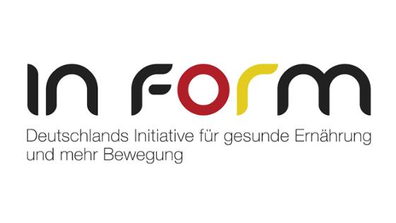 Logo IN FORM, Link zum Internetangebot