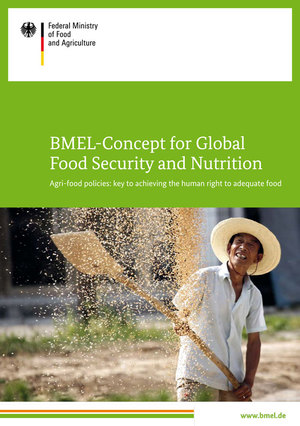 Cover Brochure 'BMEL-Concept for Global Food Security and Nutrition'