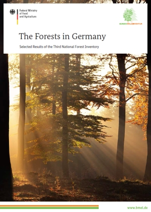 "Cover Brochure ""The Forests in Germany"""